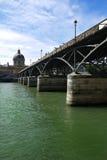Pont des Arts, Париж Стоковое Фото