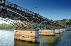 Pont des Arts. Royalty Free Stock Photography