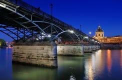 Pont des Arts. Stock Photo