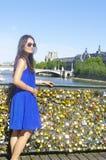 Pont des Arts  Fotografía de archivo libre de regalías