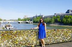 Pont des Arts Stockbild