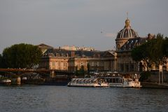 Pont des Arts Royalty-vrije Stock Afbeelding