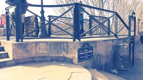 Pont des Arts Fotos de Stock