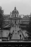 Pont des Arts Ι Στοκ Εικόνα