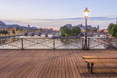 «Pont des Arts» Στοκ Φωτογραφίες