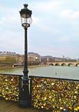 Pont des Arts Royalty-vrije Stock Foto