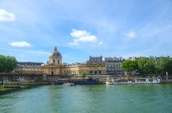 Pont Des Arts bridge in Paris Royalty Free Stock Image