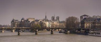Pont Des Arts bridge, Paris Stock Images