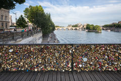 Pont des Arts Bridge Royalty Free Stock Photo