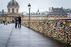 Pont des arts Royalty Free Stock Images