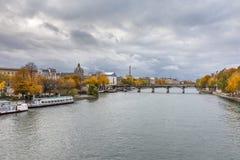 Pont des arts in Parijs Royalty-vrije Stock Afbeeldingen
