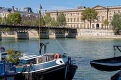 Pont des Arts - Parijs stock foto