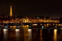 Pont des Arts in Parijs Stock Afbeelding