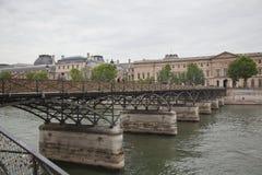 Pont des Arts in Paris Stock Photo