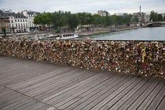 Pont des Arts in Paris Stock Images