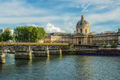 Pont Des Arts in Paris Stock Image