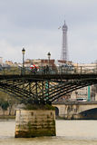 Pont des Arts, Paris - France Stock Photo