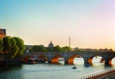 Pont des Arts, Paris, France Royalty Free Stock Photos
