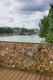 Pont des Arts in Paris Stock Photo