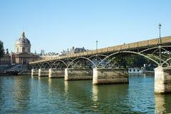 Pont des Arts, Paris. Royalty Free Stock Image