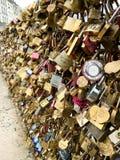Pont des Arts ή Passerelle des Arts Στοκ εικόνες με δικαίωμα ελεύθερης χρήσης