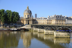 The Pont des Arts Stock Image