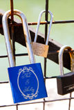 Pont des Arts Pod-locks Stock Photography