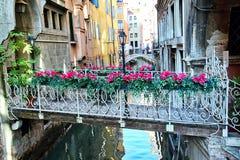 Pont des fleurs Photo libre de droits