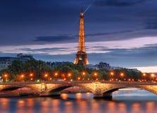 Pont des Invalides. Stock Photo