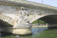 Pont des Invalides in Paris. Royalty Free Stock Photos
