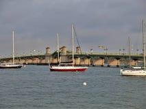 Pont des lions à St Augustine Image stock