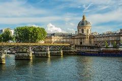 pont des paris искусств Стоковое Изображение