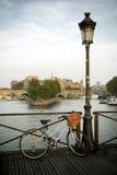 Pont des Sztuki, Paryż obrazy royalty free