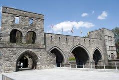 Pont des trous - Tournai Stock Photo