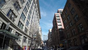 Pont Dolly Out Shot 4K de Manhattan banque de vidéos