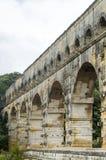 Pont du加尔省 免版税库存图片