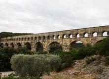 Pont du Гар 3 Стоковые Изображения