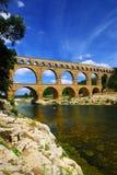 pont du Франции gard южное Стоковая Фотография RF