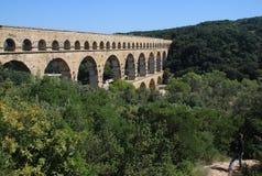 pont du Франции gard Стоковые Изображения RF