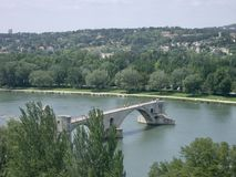 Pont du Avignon stock photos