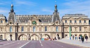 Pont Du Carrousel i tunelu wejście Umieszczać Du Carrousel adja Zdjęcia Royalty Free