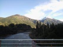 Pont du Chili de rivière Photographie stock libre de droits