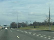 Pont du Delaware photo libre de droits
