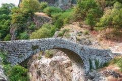 Pont du Diable ή η γέφυρα διαβόλων είναι μια ρωμαϊκή γέφυρα που εκτείνεται Στοκ φωτογραφίες με δικαίωμα ελεύθερης χρήσης