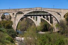 Pont du Diable in Ceret Stock Photo