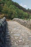The Pont du Diable or Devil Bridge is a Roman bridge that spans Stock Photos