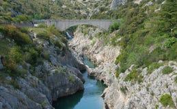 Pont du diable, Herault Stock Image