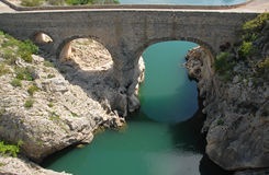 Pont du diable, Herault Royalty Free Stock Images