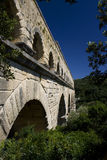 Pont du Gard. In Provence, France Royalty Free Stock Photo
