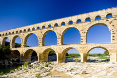 Pont du Gard Stock Photos